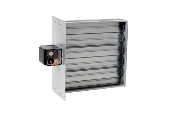 Miami Tech Inc Rectangular Motorized Zone Damper